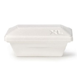 Yeti - Styrofoam Tub Cc. 1000 With Lid (xl)